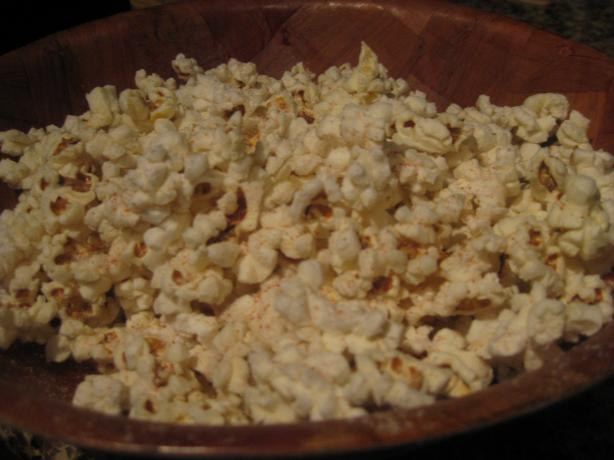 Spicy Garlic Popcorn
