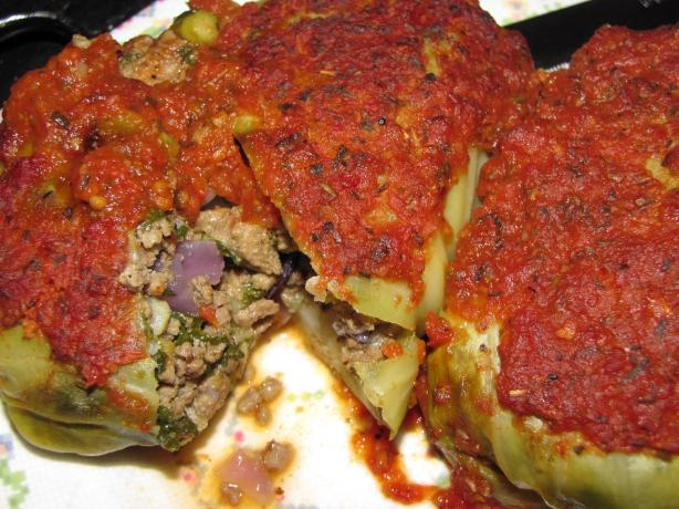 Beef N Veg Cabbage Rolls