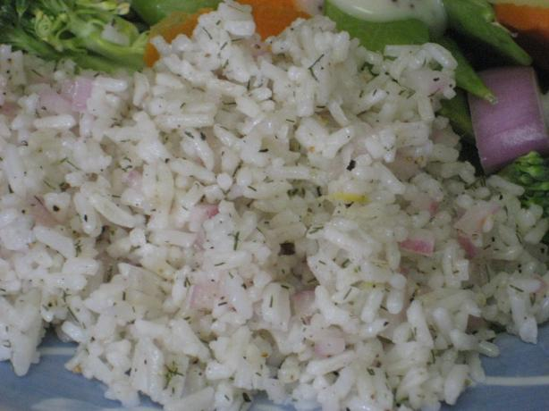 Martha's Rice Salad