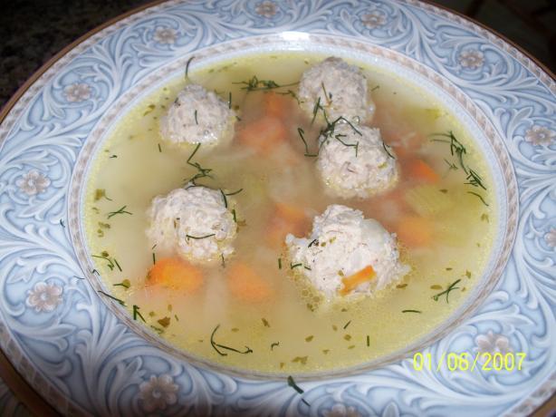 Meatball Soup (Supa Cu Perisoare)