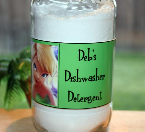 Deb's Peppermint Dishwasher Detergent
