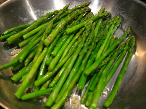 Quick Sauteed Asparagus - Hcg Friendly
