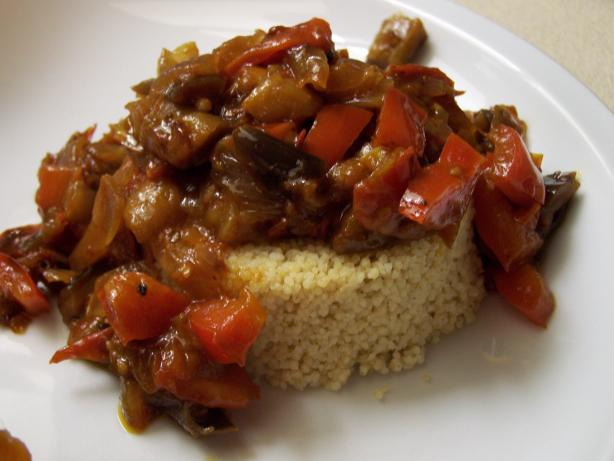 Asian Ratatouille With Couscous