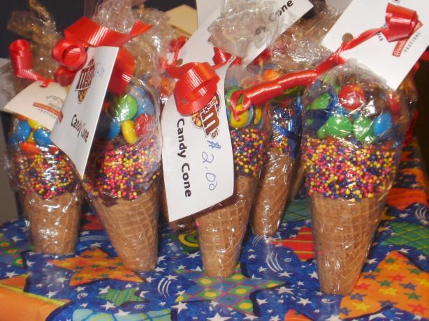 Valentine Candy Cones