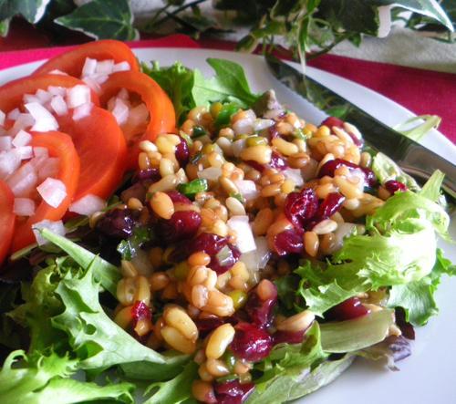 Spelt and Kamut Salad