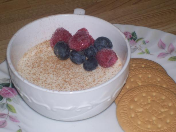 Buttermilk Pudding With Fresh Fruit
