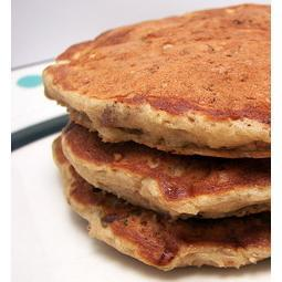 O is for Oatmeal Pancakes