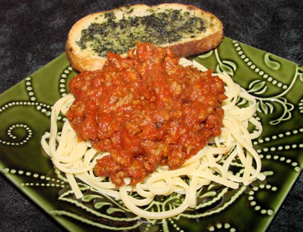 Lynda's Spaghetti Sauce