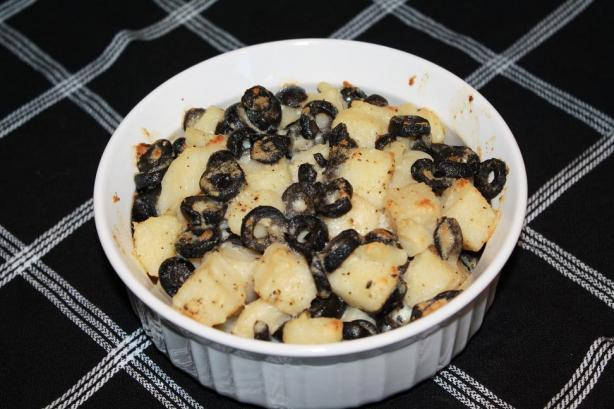 Crushed Potatoes and Olives