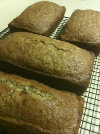 High-Altitude Zucchini Bread