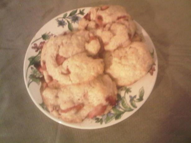 Strawberry-Shortcake Cookies