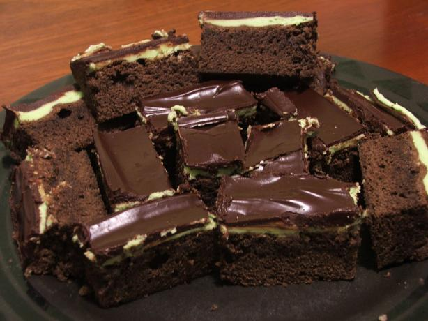 Unleavened Chocolate Mint Cake Brownies