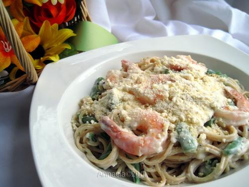 Creamy Shrimp and Pasta