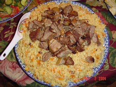 Uyghur Polo (Pilaf)