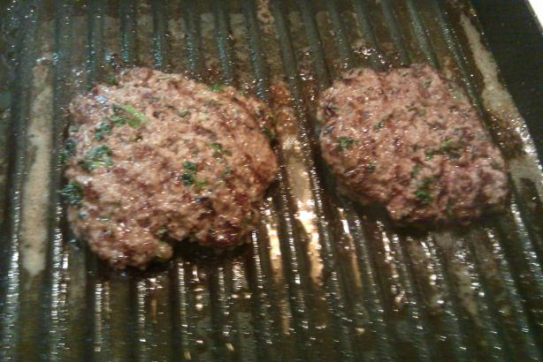 Herbed Burger Patties