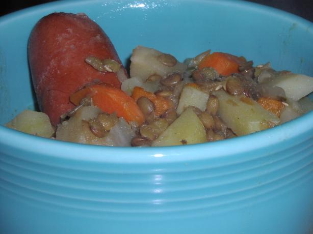 Mecklenburger Lentil Stew