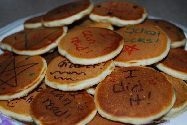 Pancake Messages