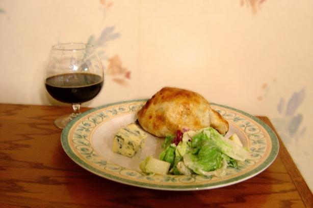 Beer & Stilton Stuffed Beef Wellington