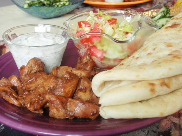 Greek-Style Fajitas