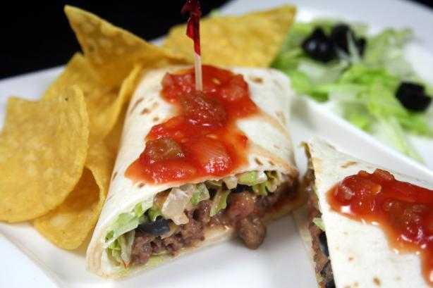 Beef & Cheese Burritos