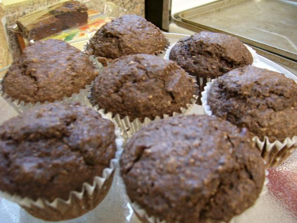 Chocolate Bran Muffins (Dairy- and Soy-Free)