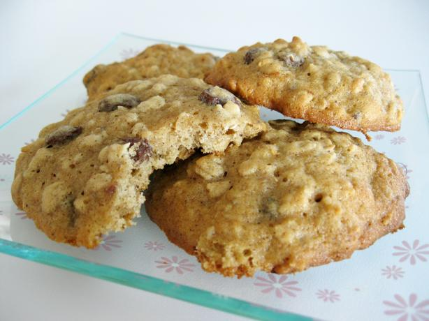 Mina Newton Oatmeal Raisin Cookies
