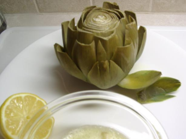 Really Really Simple Artichokes