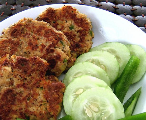 Tuna Fish-Cheese Patties