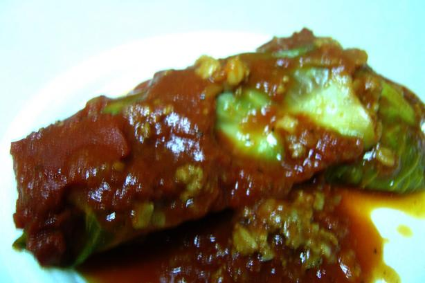 Linda's Stuffed Cabbage