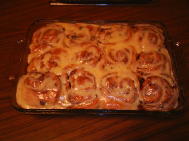 Lemon Kissed Cinnamon Rolls