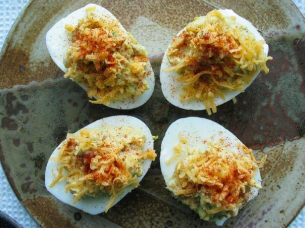 Deviled Eggs With a Kick!
