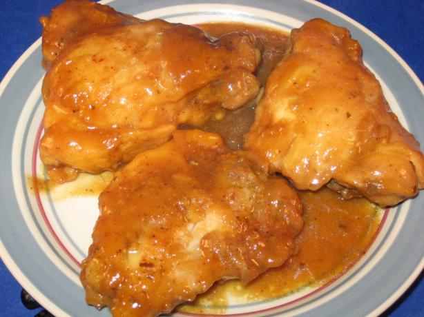 Honey-Mustard Chicken Thighs