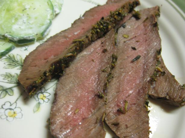 Flank Steak With Herbes De Provence
