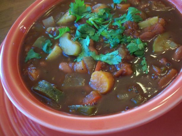 Veggie Cincy Chili