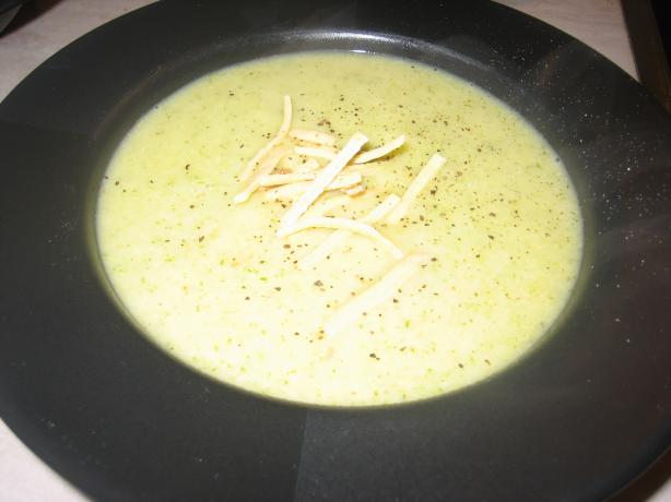 Puréed Vegetable Soup