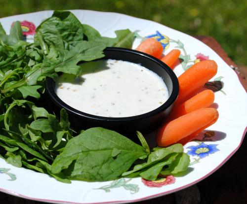 Buttermilk Balsamic Salad Dressing