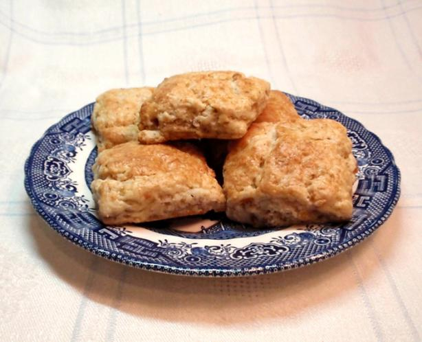 Apricot Walnut Scones