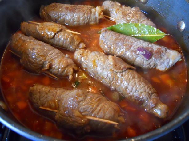 Beef Roulards