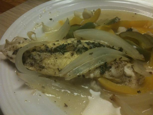 Lemon-Infused Fish and Vegetables