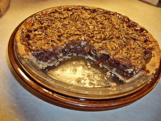 Martha Stewart's Chocolate Pecan Pie