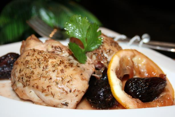 Egyptian Lemon Chicken With Figs