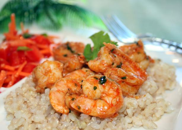 Egyptian Spiced Prawns