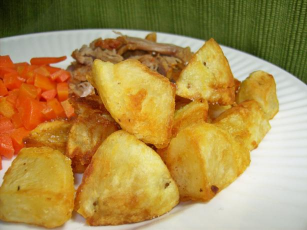 Gold Nugget Fried Potatoes