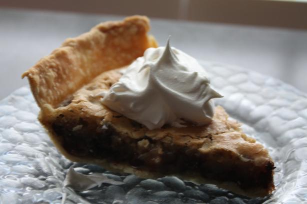 Perfect Chocolate Chip Pie