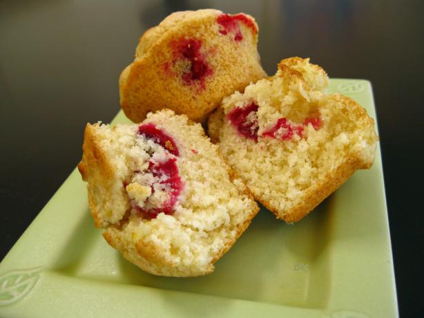 Meyer Lemon and Fresh Cranberry Muffins