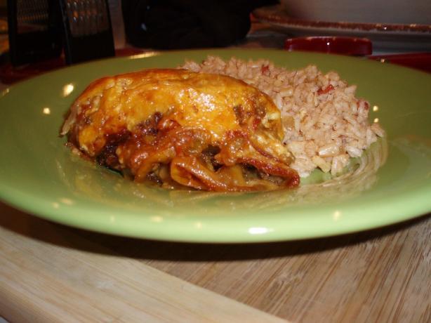Kevin's Famous Beef Enchilada Casserole