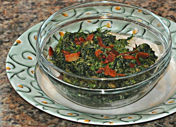 Berghoff Restaurant Creamed Spinach