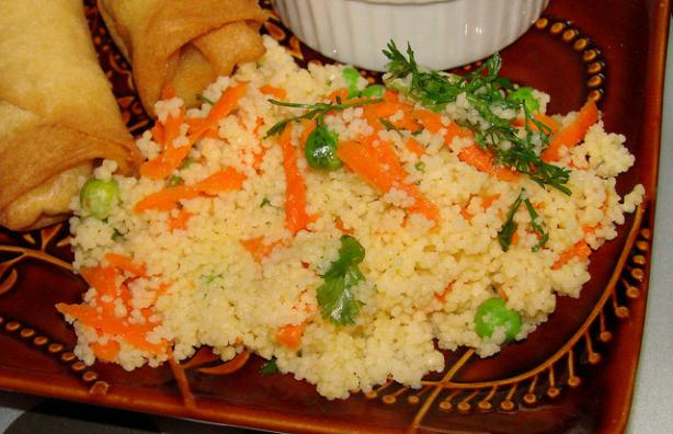 Carrot and Cilantro Couscous