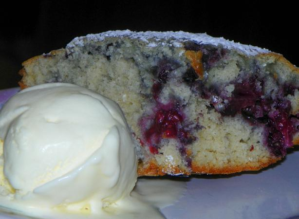 Blackberry Bunt Cake