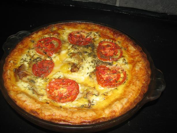 Tomato Thyme Quiche